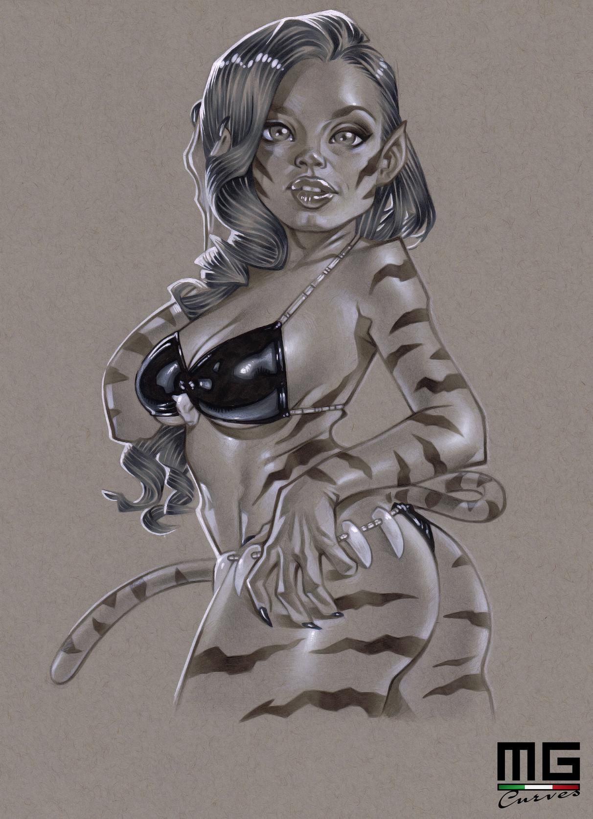 Illustration_Keisha_Grey_Tigra copia
