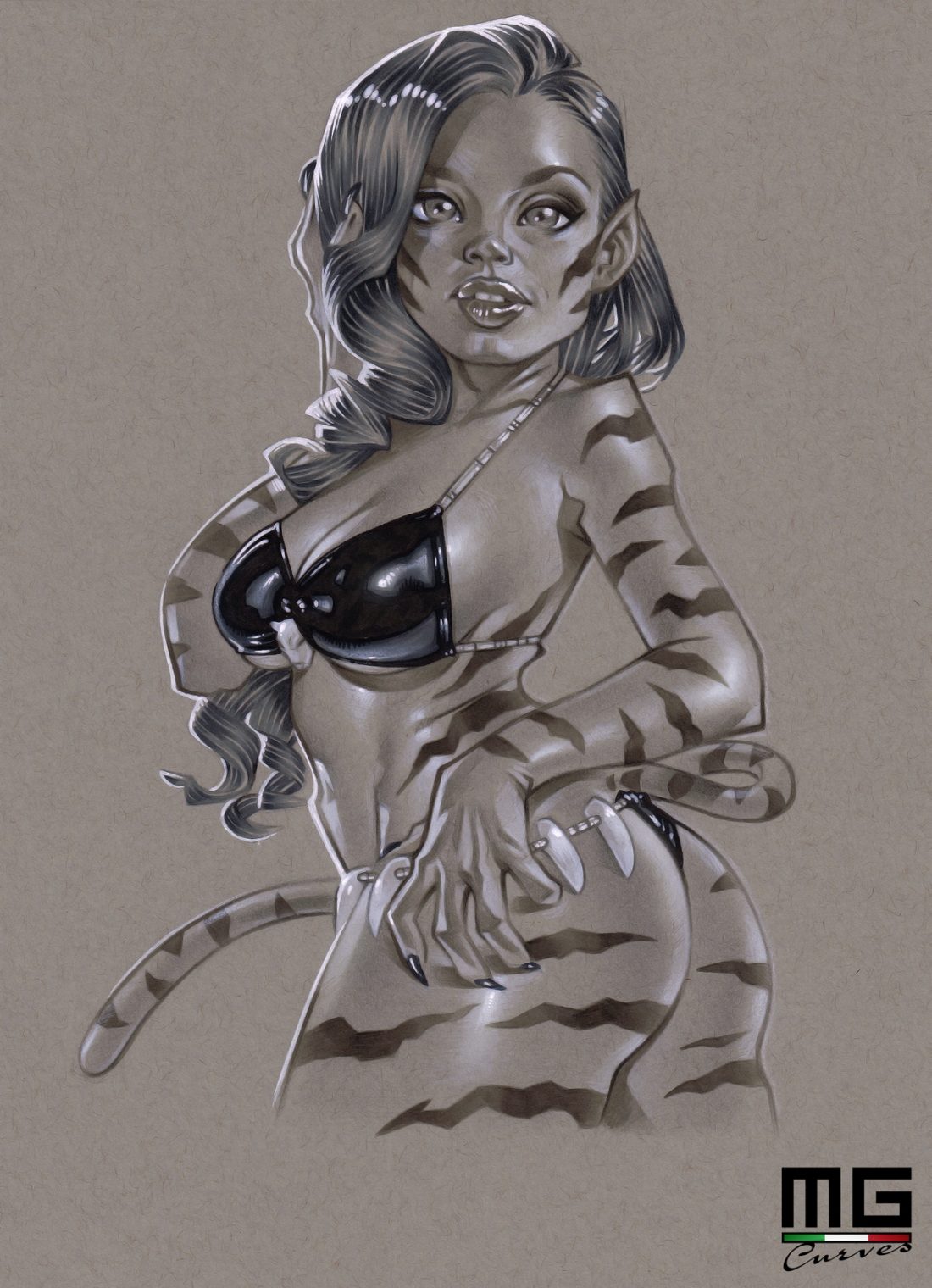Illustration_Keisha_Grey_Tigra copia